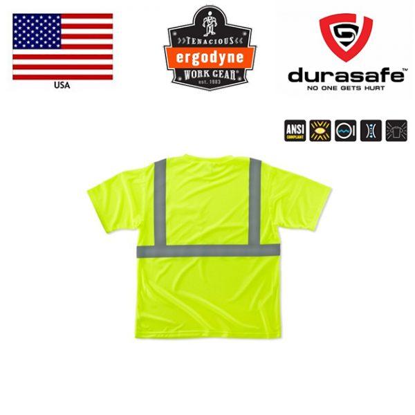 RGODYNE-GloWear®-8289-T-Shirt-Hi-Viz-Lime-2