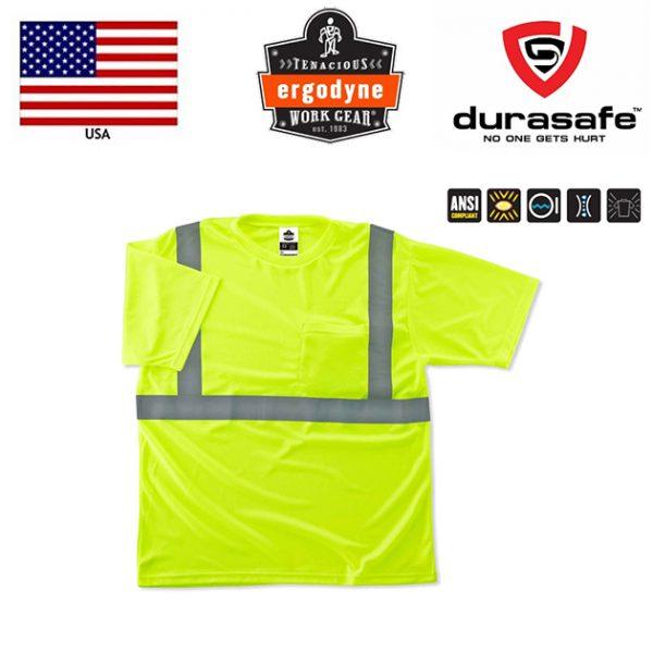 RGODYNE-GloWear®-8289-T-Shirt-Hi-Viz-Lime