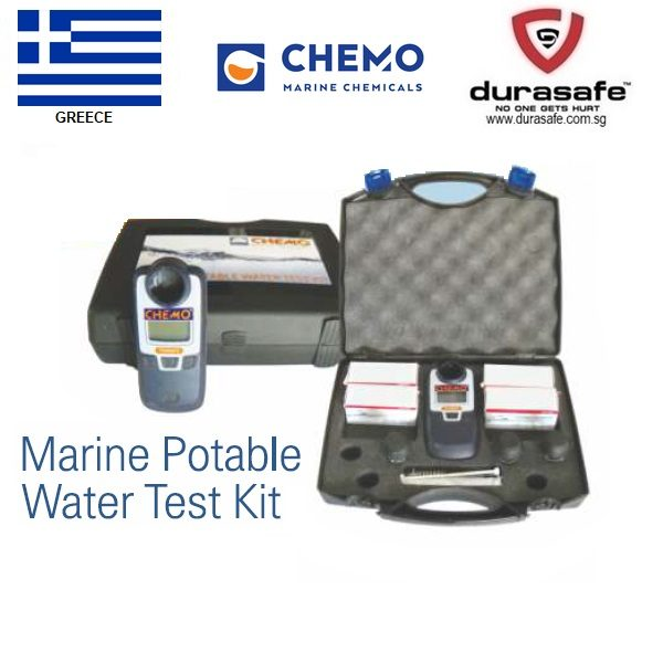 chemo marine portable water test kit